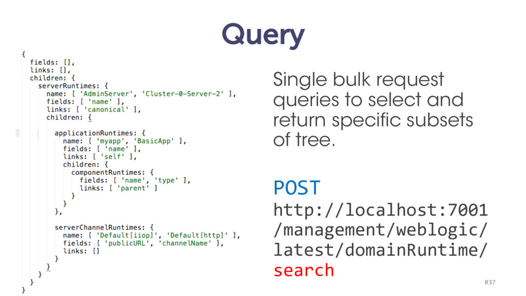 Query Single bulk request queries to select and...