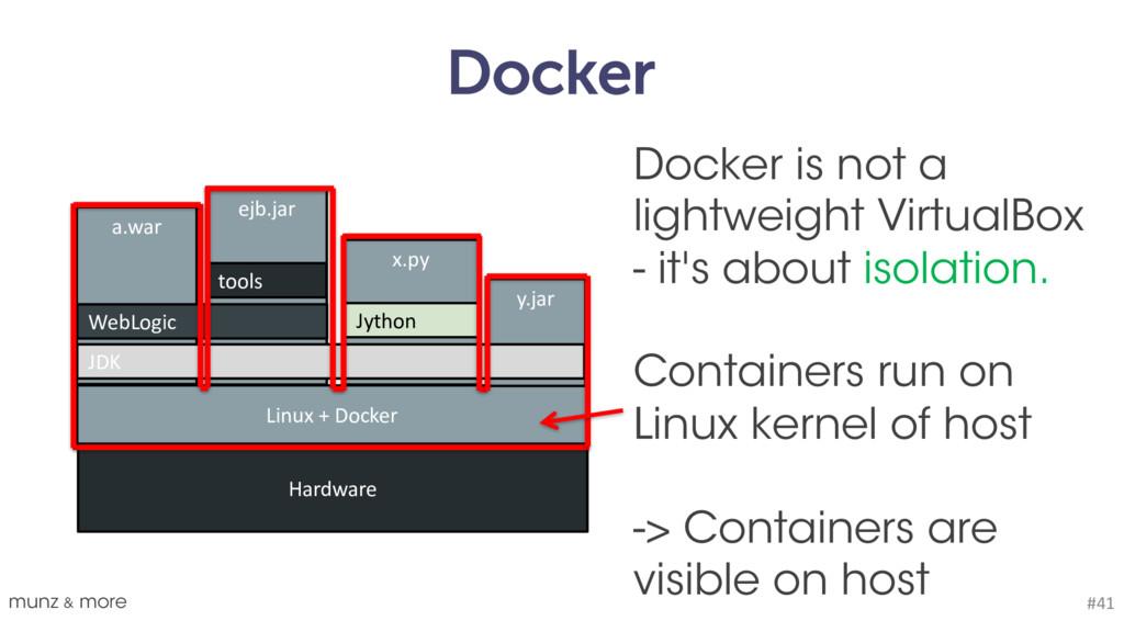 Docker munz & more #41 Linux + Docker Hardware ...