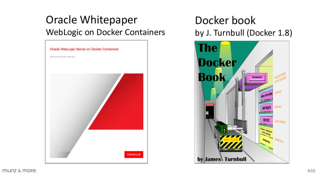 munz & more #49 Docker book by J. Turnbull (Doc...