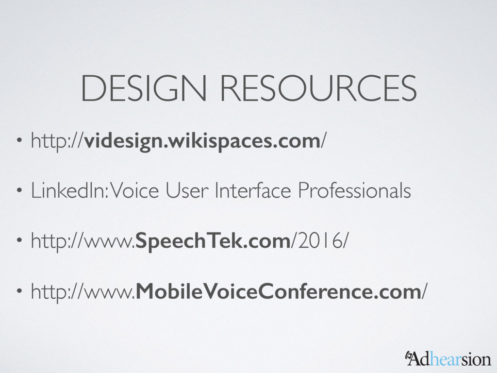 DESIGN RESOURCES • http://videsign.wikispaces.c...
