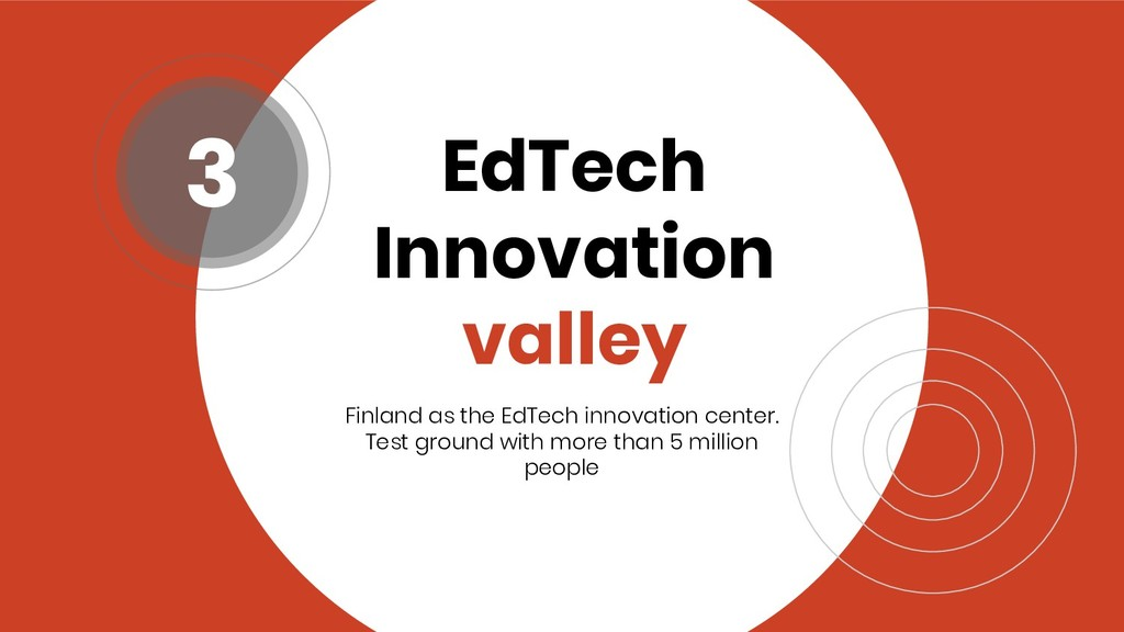 EdTech Innovation valley Finland as the EdTech ...