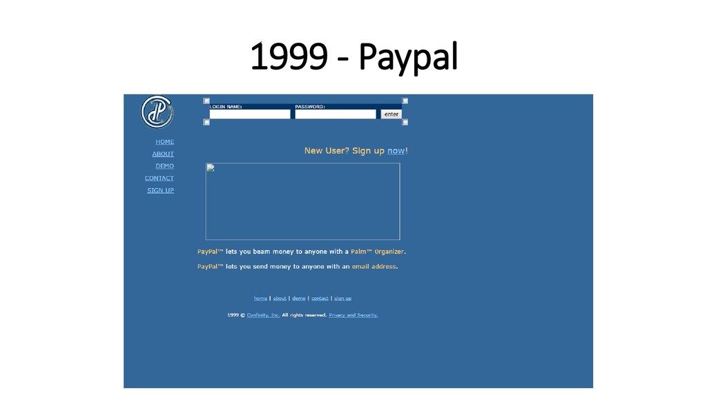 1999 - Paypal
