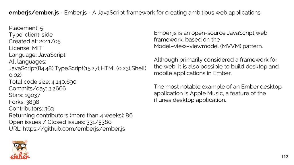 112 emberjs/ember.js - Ember.js - A JavaScript ...