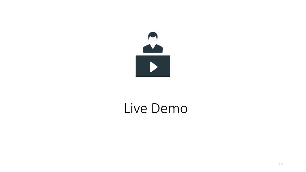 Live Demo 15