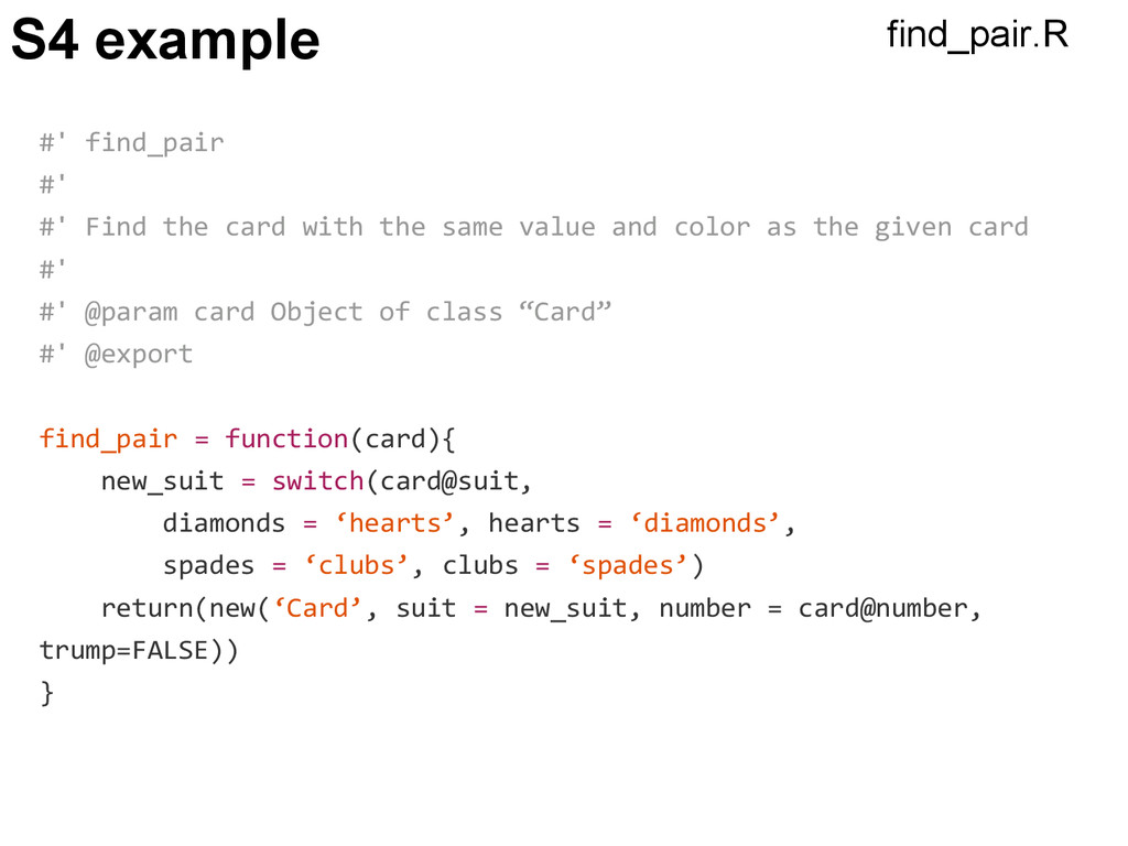 S4 example #' find_pair #' #' Find the card wit...
