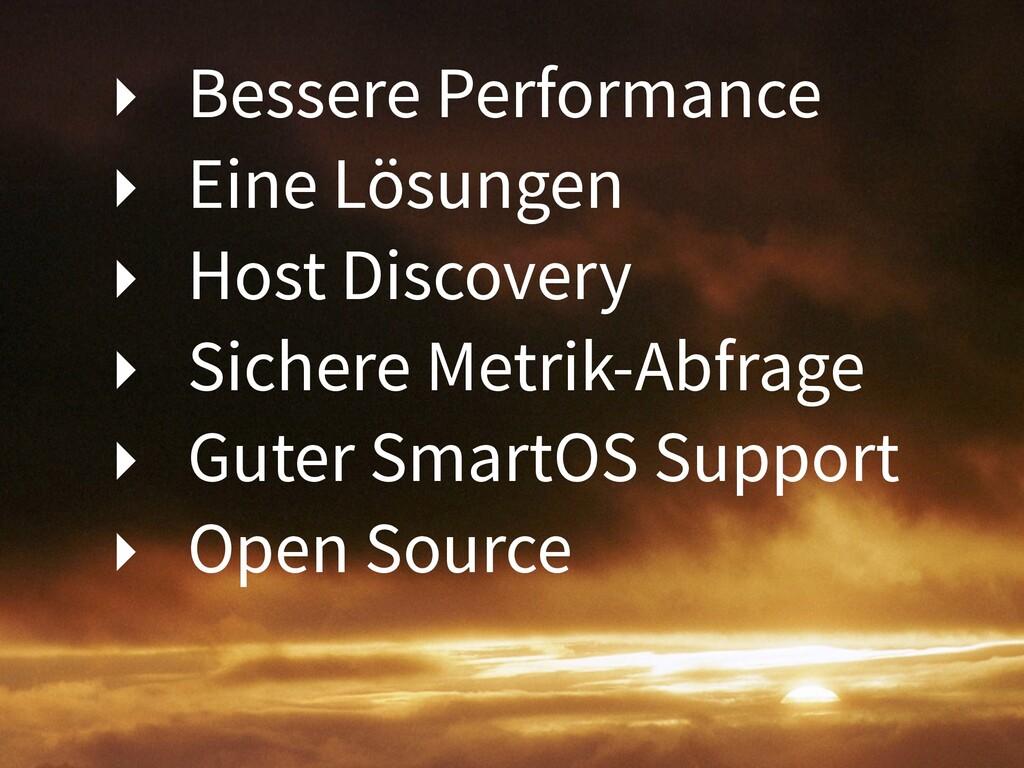 ‣ Bessere Performance ‣ Eine Lösungen ‣ Host Di...