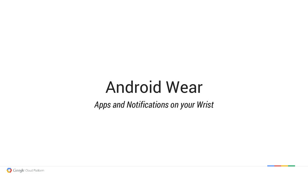 Android Wear Apps and Notifications on your Wri...