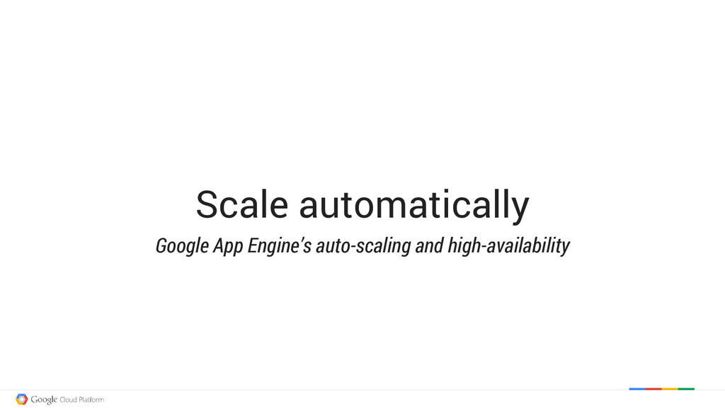 Scale automatically Google App Engine's auto-sc...