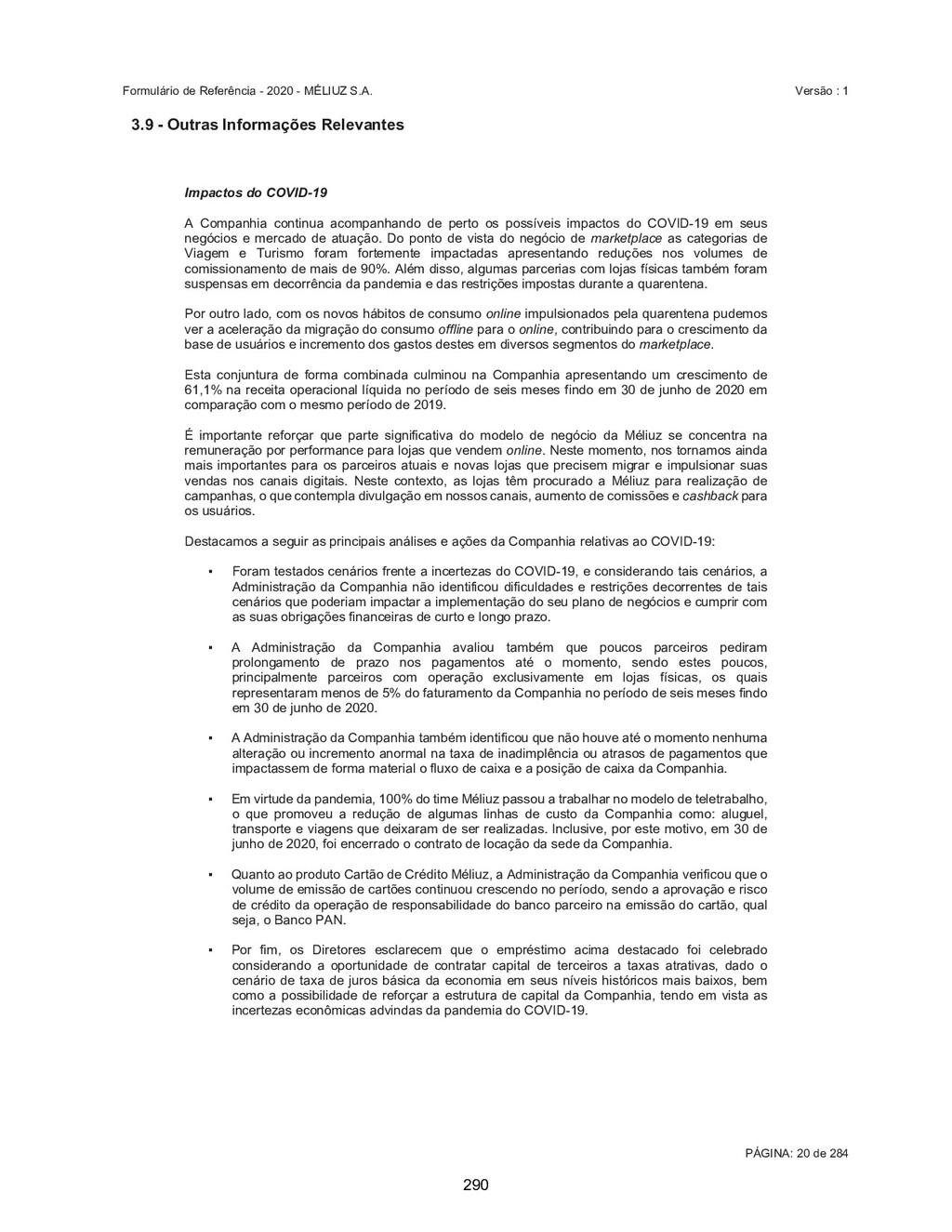 2XWUDV,QIRUPDo}HV5HOHYDQWHV Impactos do...