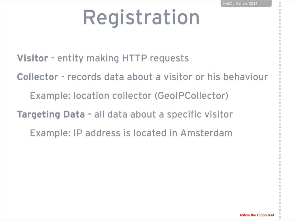 follow the Hippo trail NoSQL Matters 2013 Regis...