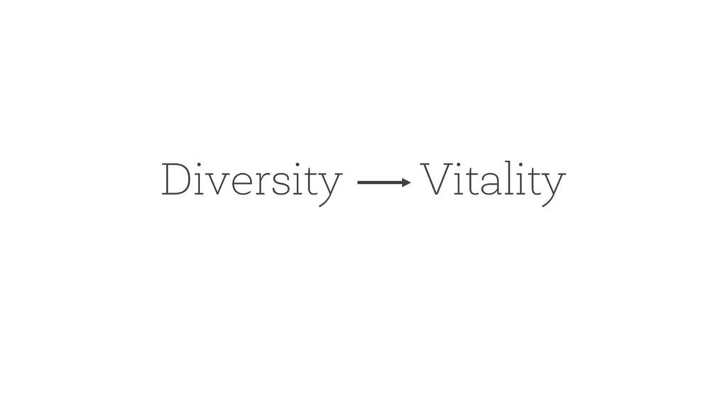 Diversity Vitality