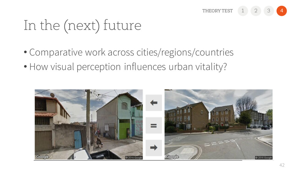 In the (next) future • Comparative work across ...