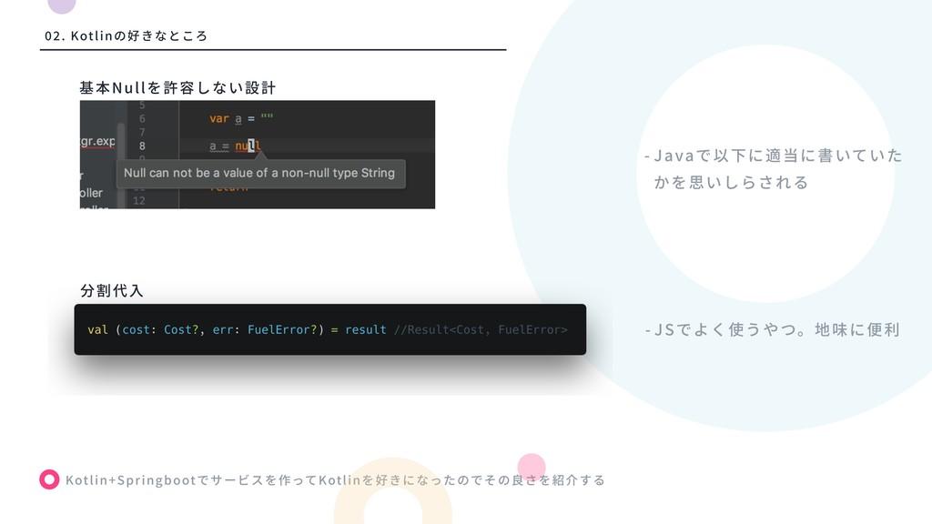 Kotlin+Springboot Kotlin - Java Null - JS 算 . K...