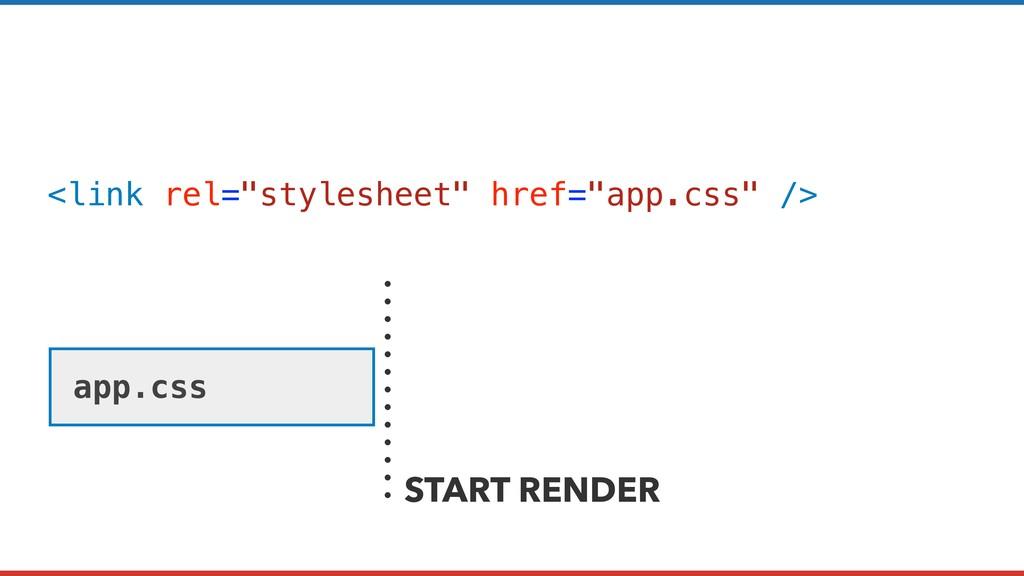 "<link rel=""stylesheet"" href=""app.css"" /> app.cs..."