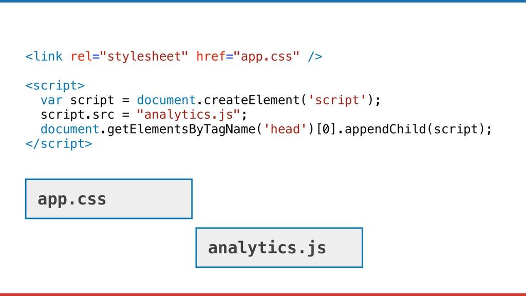 "<link rel=""stylesheet"" href=""app.css"" /> <scrip..."