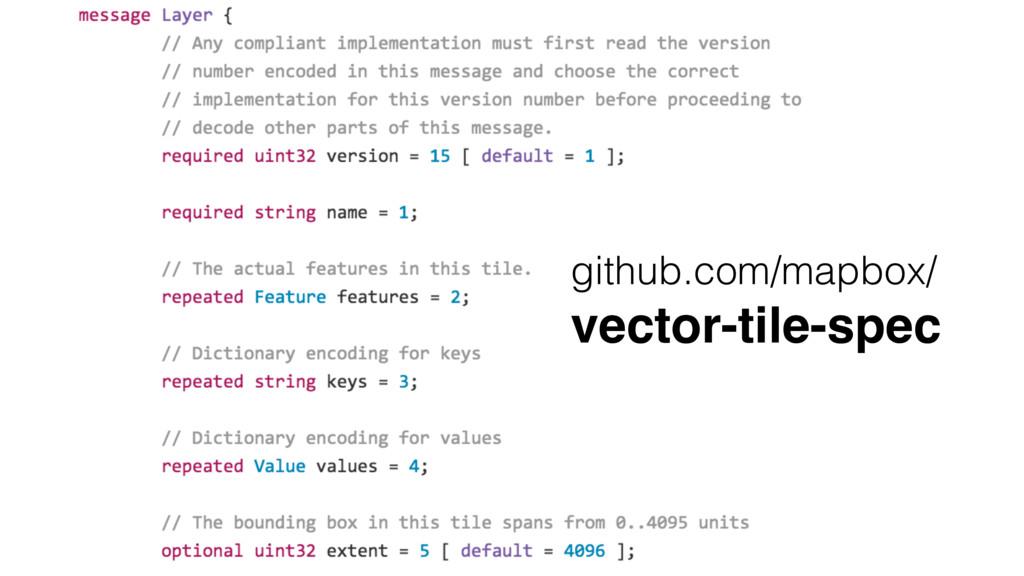 github.com/mapbox/ vector-tile-spec