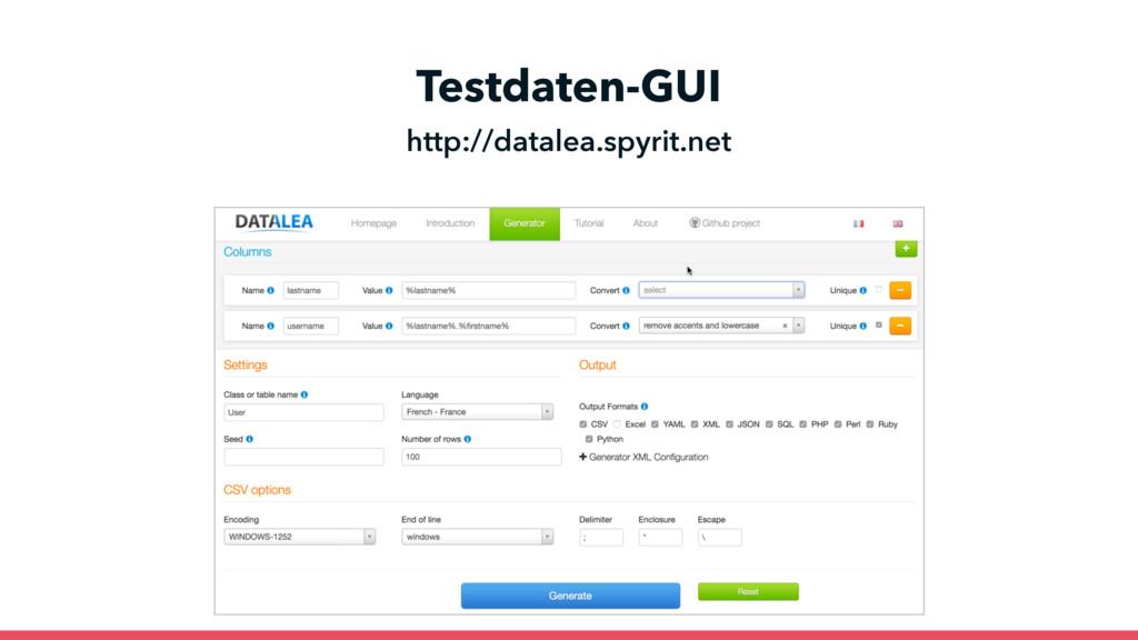 Testdaten-GUI http://datalea.spyrit.net CSVɾExc...