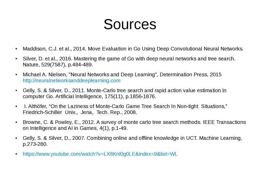 Sources ● Maddison, C.J. et al., 2014. Move Eva...
