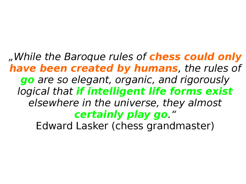 """""""While the Baroque rules of chess could only ha..."""