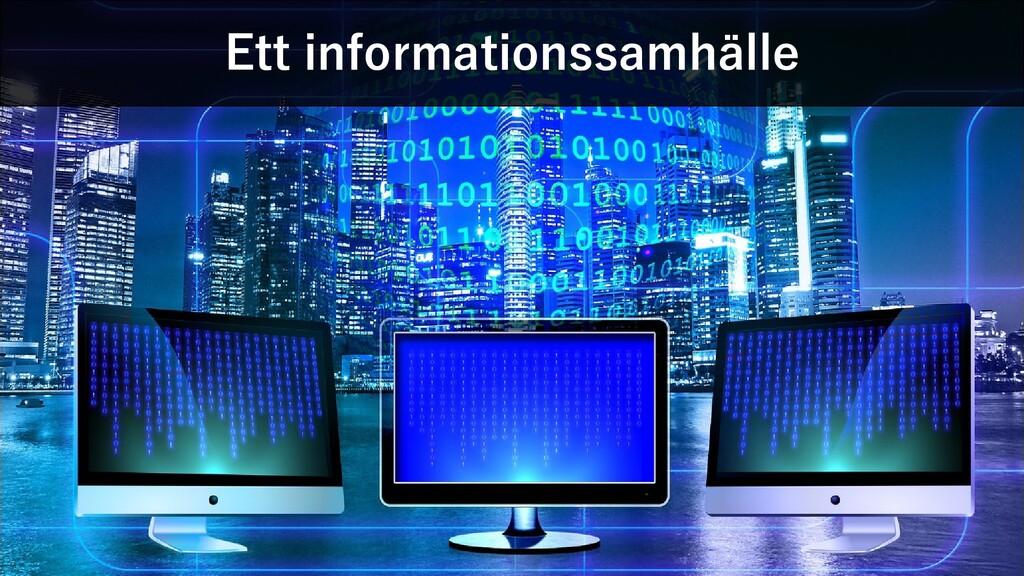 Ett informationssamhälle