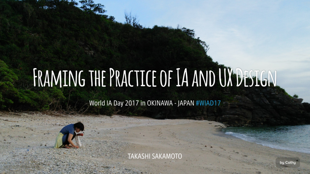 Framing the Practice of IA and UX Design 8PSME...