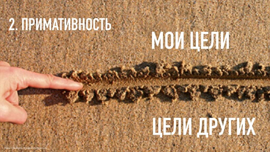 2. ПРИМАТИВНОСТЬ Anna Obukhova BrainLovesAgile....