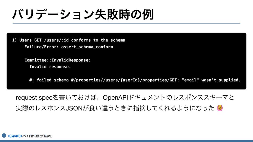 όϦσʔγϣϯࣦഊͷྫ 1) Users GET /users/:id conforms t...