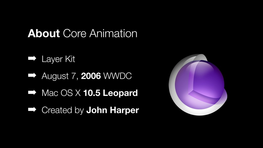 ➡ Layer Kit ➡ August 7, 2006 WWDC ➡ Mac OS X 10...