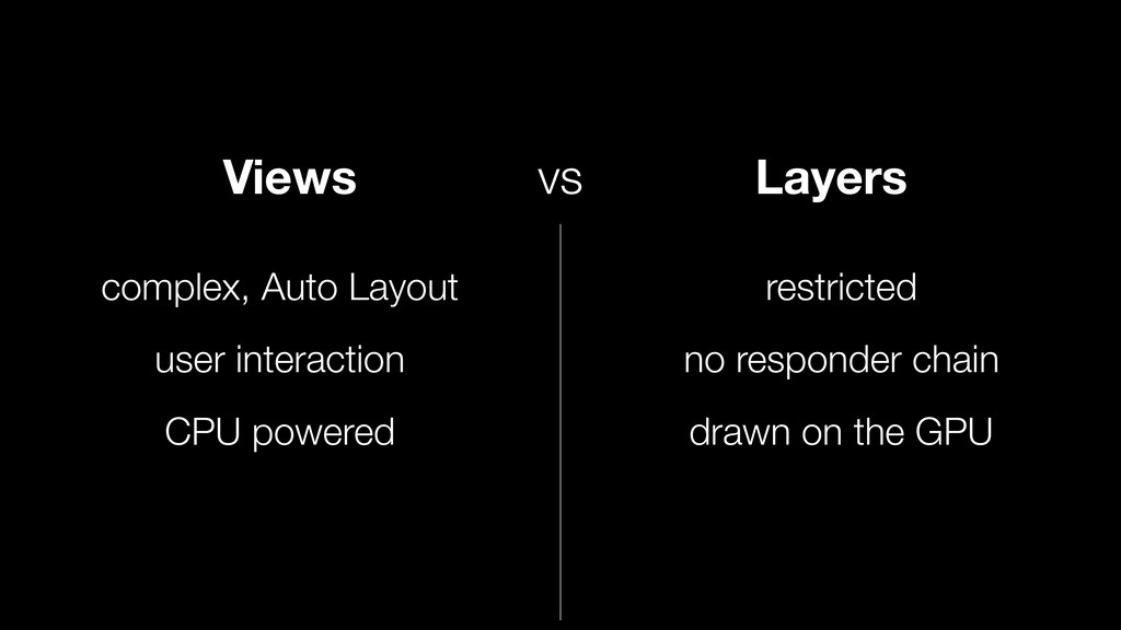 Views Layers vs complex, Auto Layout user inter...
