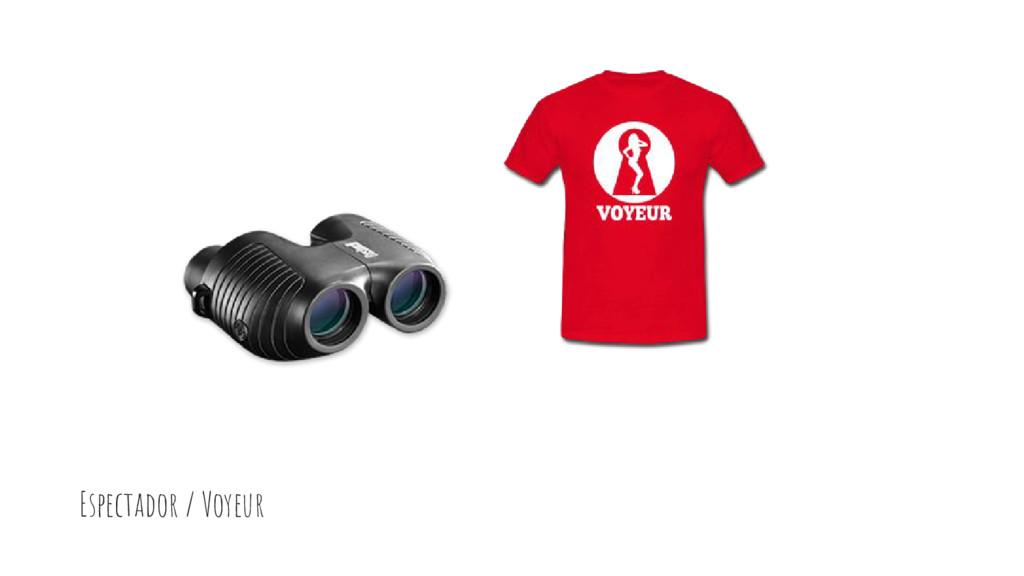 Espectador / Voyeur