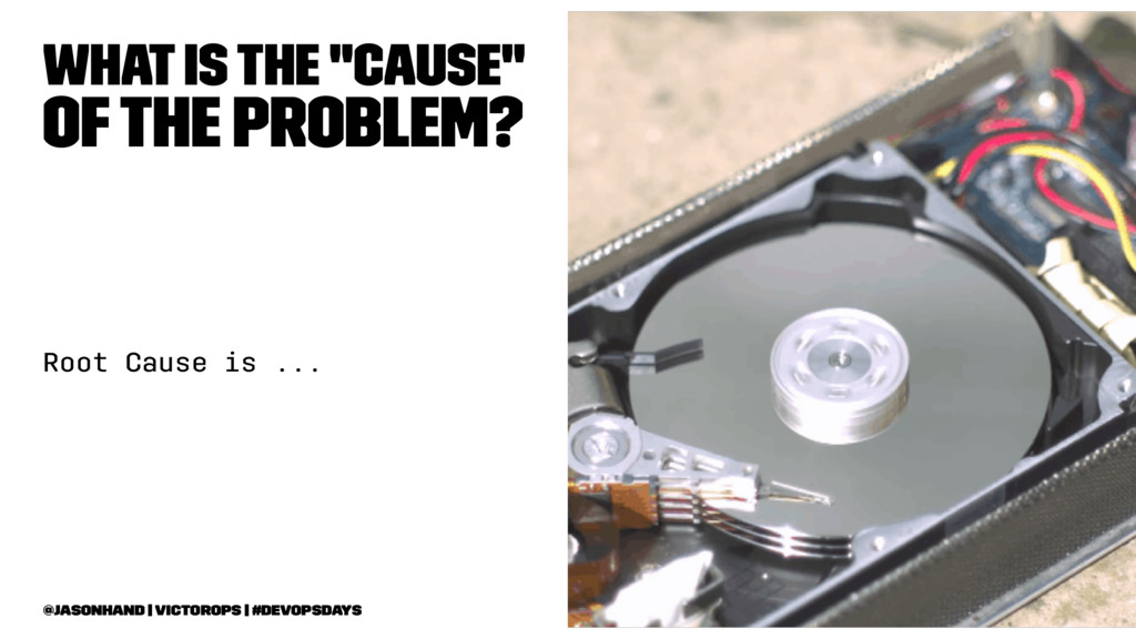 """What is the """"cause"""" of the Problem? Root Cause ..."""