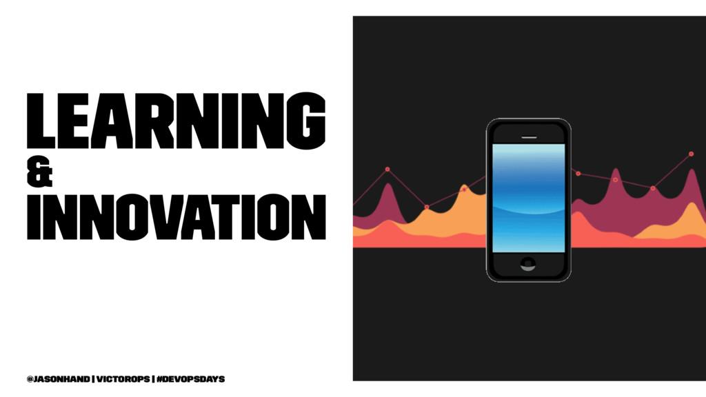 Learning & Innovation @jasonhand   VictorOps   ...