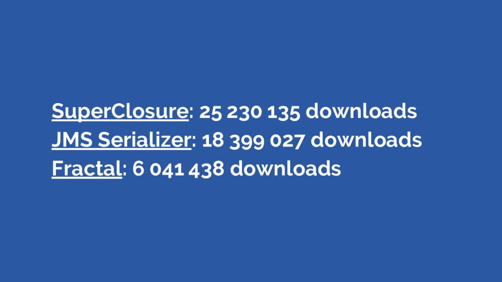 SuperClosure: 25230135 downloads JMS Serializ...