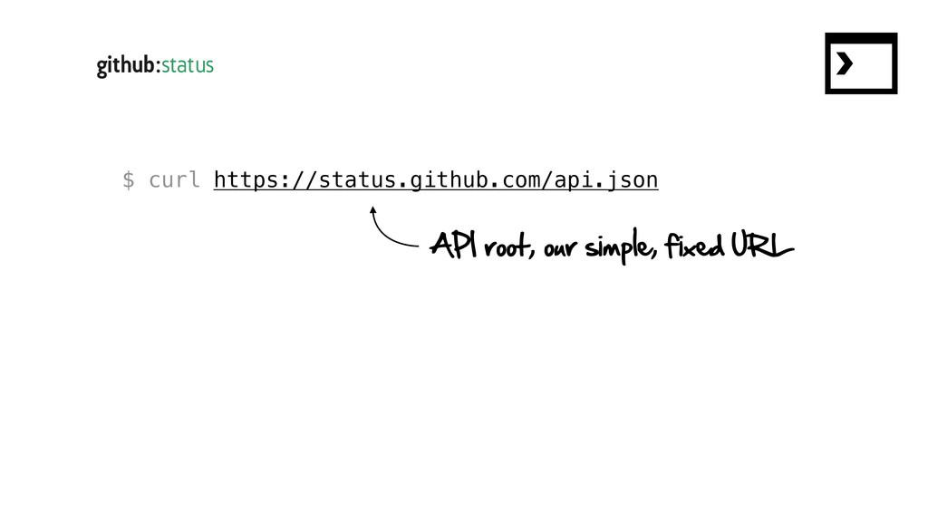 $ curl https://status.github.com/api.json API r...