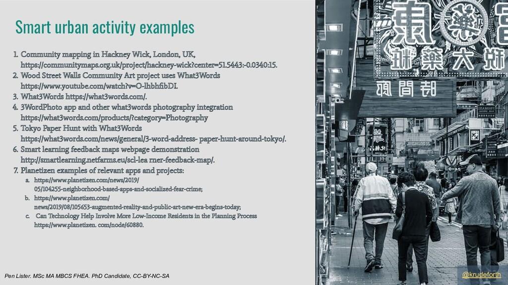 1. Community mapping in Hackney Wick, London, U...