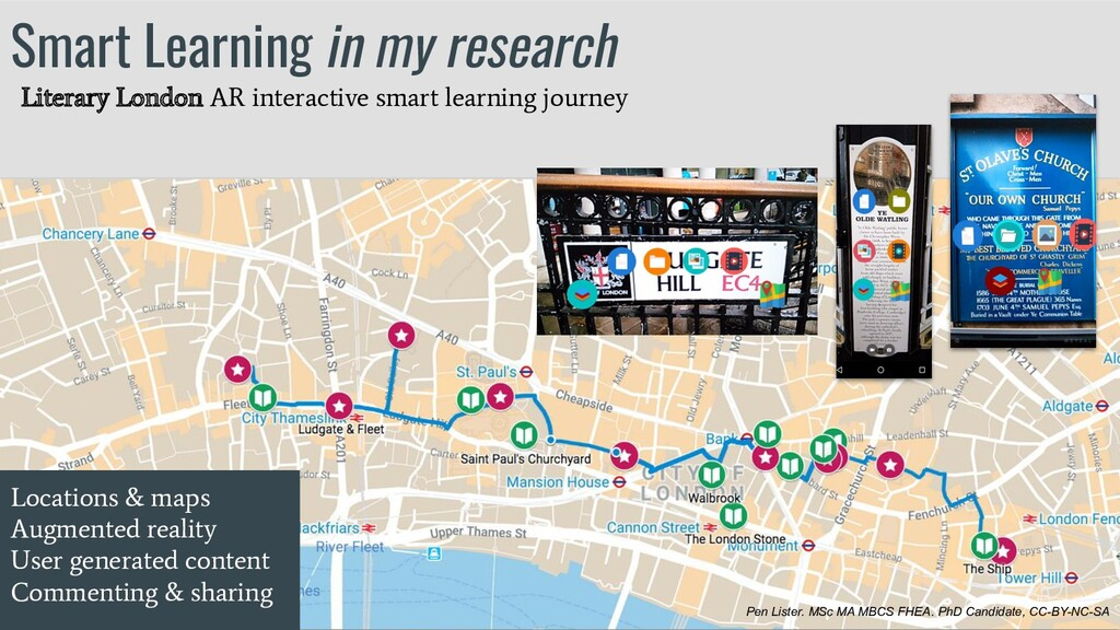 Smart Learning in my research Locations & maps ...