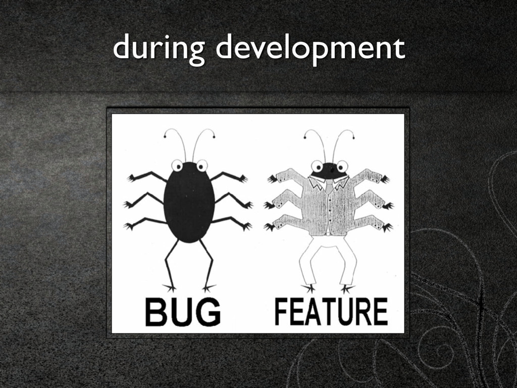 during development