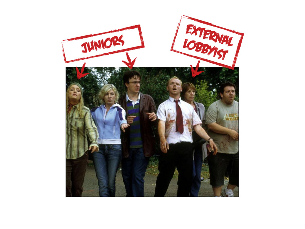 juniors external lobbyist