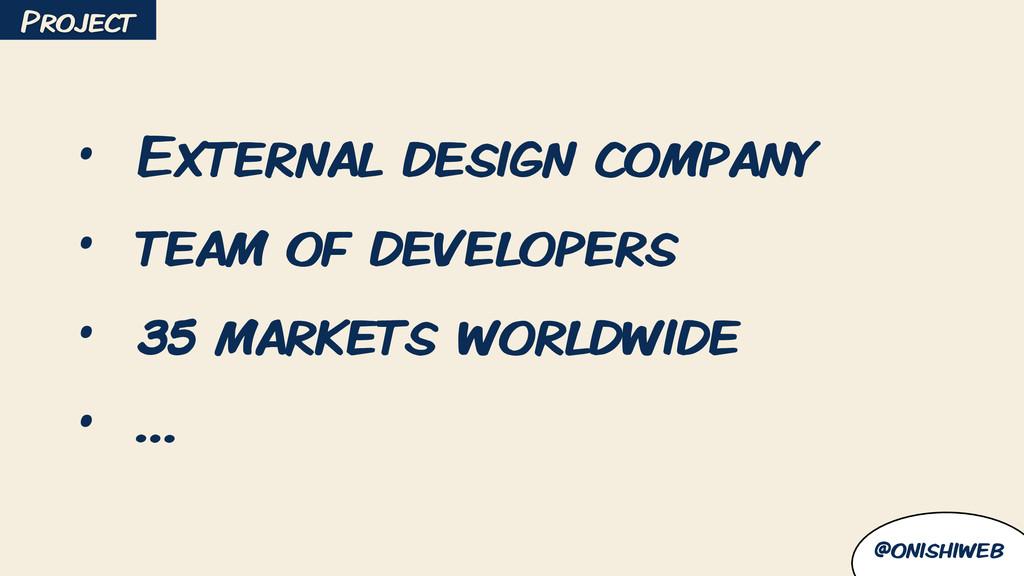@onishiweb • External design company • team of ...
