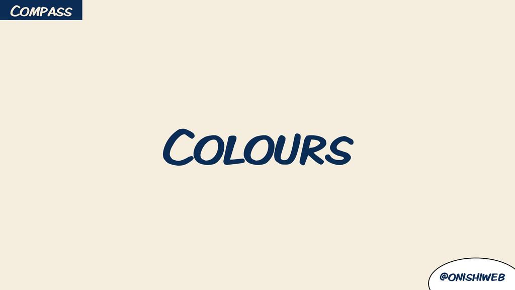 @onishiweb Colours Compass