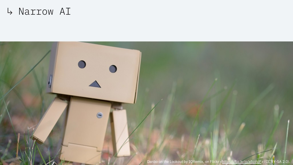 ↳ Narrow AI Danbo on the Lookout by IQRemix, on...