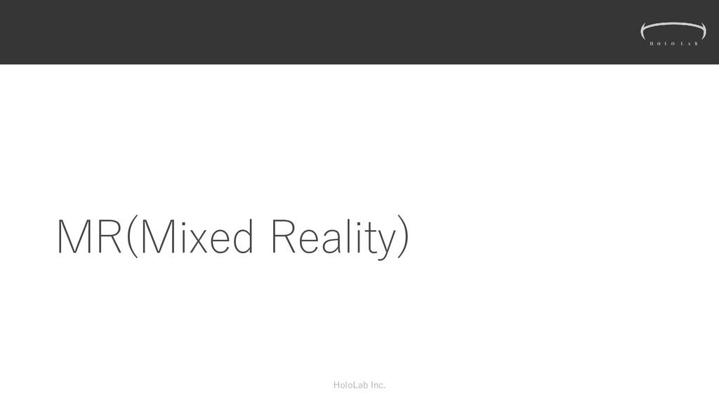 MR(Mixed Reality) HoloLab Inc.
