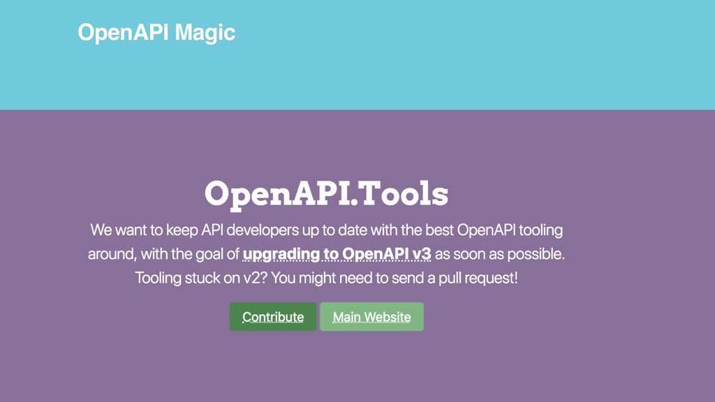 OpenAPI Magic