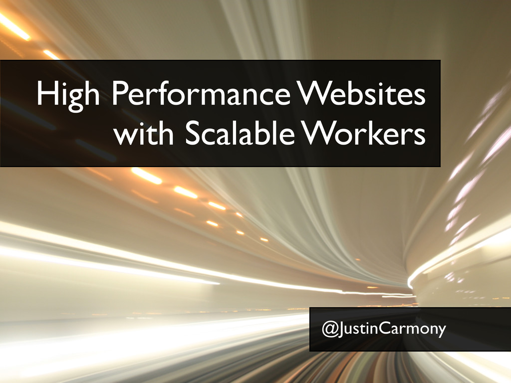 Text High Performance Websites with Scalable Wo...