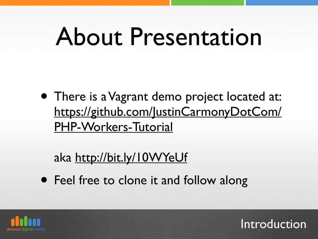 Introduction About Presentation • There is a Va...