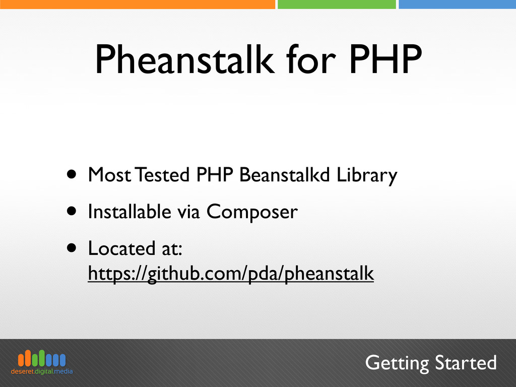Getting Started Pheanstalk for PHP • Most Teste...