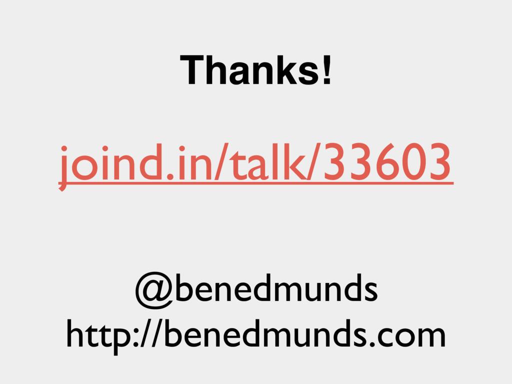 Thanks! @benedmunds http://benedmunds.com joind...