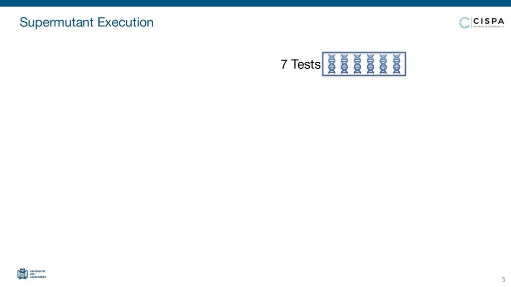 Supermutant Execution 5 7 Tests