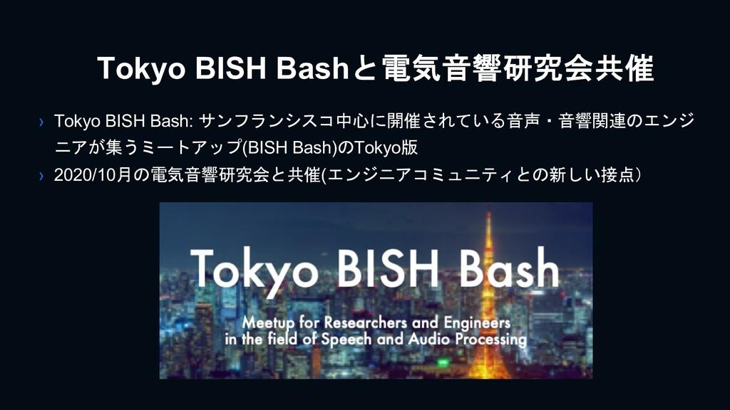 Tokyo BISH Bashと電気音響研究会共催 › Tokyo BISH Bash: サン...