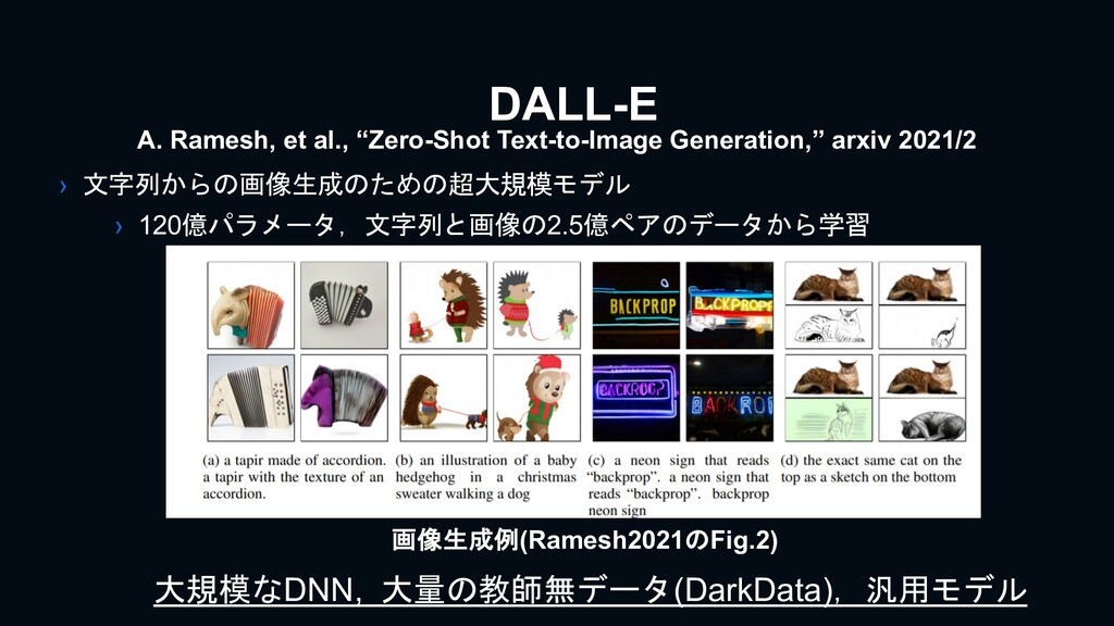 DALL-E › 文字列からの画像生成のための超大規模モデル › 120億パラメータ,文字列と...
